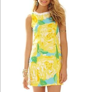Gorgeous yellow flower Lilly Pulitzer Dress